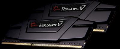 Оперативная память G.Skill DDR4-4000 16384MB PC4-32000 (Kit of 2x8192) Ripjaws V Black (F4-4000C18D-16GVK)