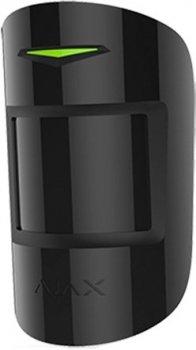 Бездротовий датчик руху Ajax MotionProtect Plus EU Black (000001150)