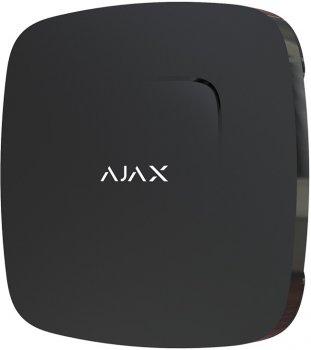 Бездротовий датчик детектування диму та чадного газу Ajax FireProtect Plus EU Black (000005636)
