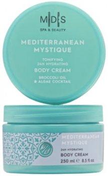 Крем для тіла Mades Cosmetics Таємниці Середземномор'я тонус шкіри та 24 години зволоження 250 мл (8714462095055)