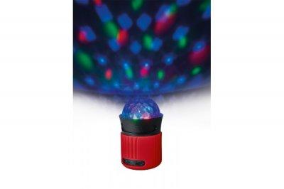 Портативна акустика Trust Dixxo Go Wireless Bluetooth Speaker with party red lights (21346)
