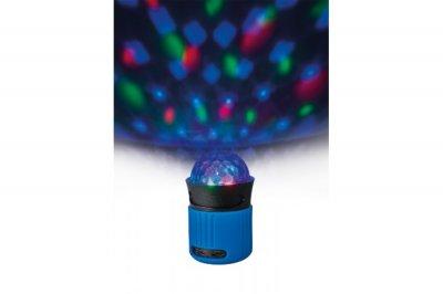 Портативна акустика Trust Dixxo Go Wireless Bluetooth Speaker party with lights blue (21347)