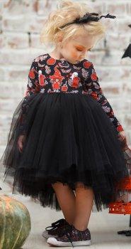 Платье фатиновое Zironka 38-8026-1 80 см Черное