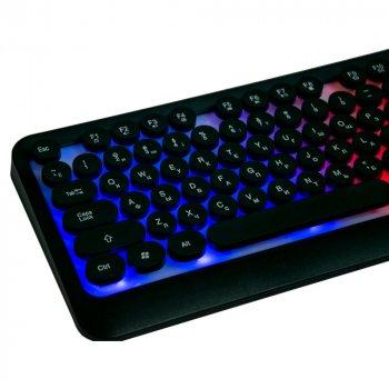 Клавіатура для ігр з RGB-підсвіткою + мишка HK3970, ігровий набір (VS7003633)
