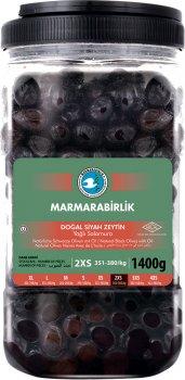 Маслины вяленые Marmarabirlik черные 2XS 1.4 кг (8690103910881)