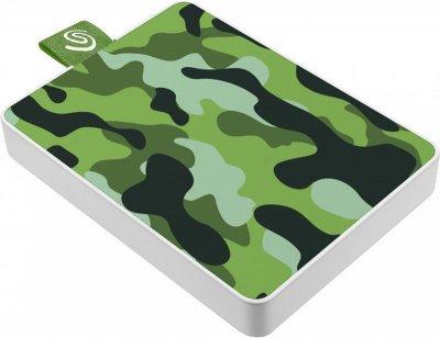Накопичувач зовнішній SSD USB 500GB Seagate One Touch Camo Green (STJE500407)