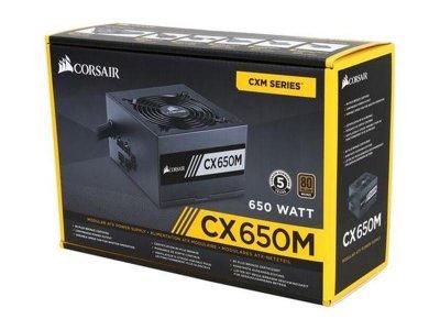 Блок живлення Corsair CX650M (CP-9020103-EU) 650W - Refubrished