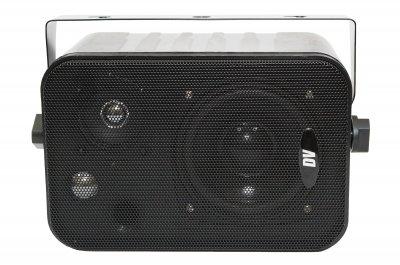 """Настенная двухполосная акустическая система DV audio 4""""+2"""" 10W 100V черный (Control 1 Black)"""