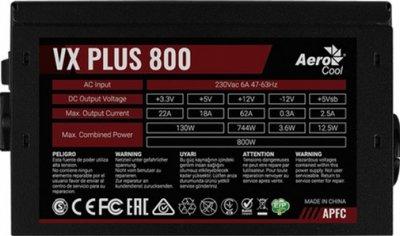 Aerocool VX 800 Plus 800W