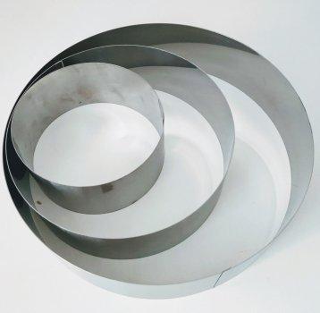 Кільце для формування і випікання торта RYJ 3 шт (10,15,20 см)
