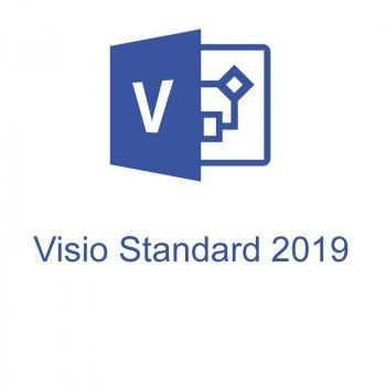 Офісна програма Microsoft Visio Std 2019 стандартний 1 ПК (електронний ключ, всі мови) (D86-05822)