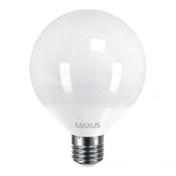 Лампа Maxus LED G95 12W 3000K 220V E27 (11667803)