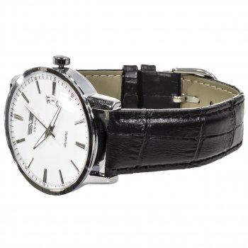 Часы мужские SWIDU SWI-001 White наручные нержавеющая сталь влагозащищенный корпус кварцевые