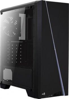 Корпус Aerocool Cylon BG RGB Tempered Glass Black
