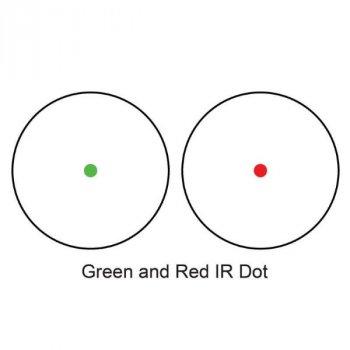 Приціл приціл Barska Red/Green Dot 1x30 Cantilever (Weaver)