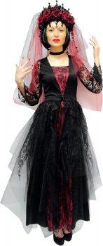Костюм Seta Decor 17-867 Готическая королева S-М Бордово-черный (2000045865013)