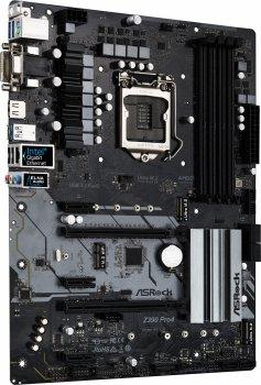 Материнська плата ASRock Z390 Pro4 (s1151, Intel Z390, PCI-Ex16)