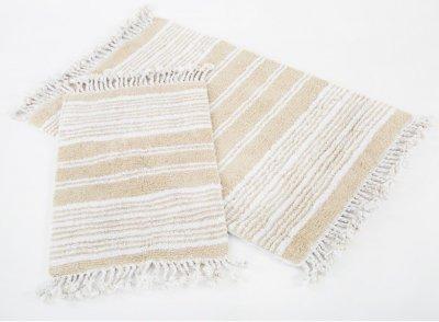 Набор ковриков в ванную комнату Irya Relax 60x90и 40x60