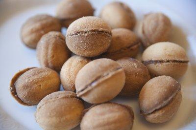 Печенье Хрусталев Орешки со сгущенкой упаковка 2 кг без ГМО
