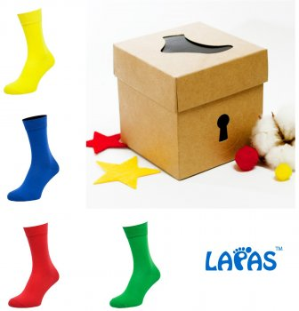 Набор носков Lapas 4P-210-213 (4 пары) Разноцветный W