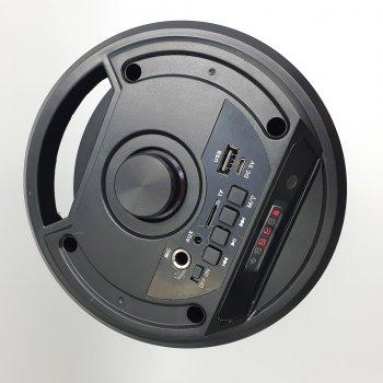 """Бездротова колонка акумуляторна Bluetooth акустична система 2х4"""" USB FM 2х6 Вт ZQS-4210"""