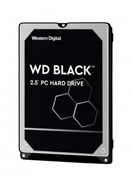 Жорсткий диск 2.5' 1Tb Western Digital Black SATA3 64Mb 7200 rpm (WD10SPSX)