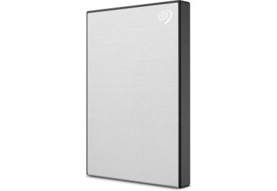 Зовнішній жорсткий диск 1Tb Seagate Backup Plus Slim Silver 2.5' USB 3.0 (STHN1000401)