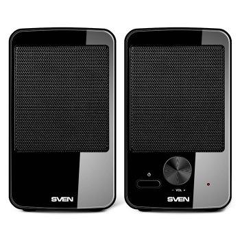Акустична система ( колонки ) SVEN 312 (black) 2*2W speaker, USB (12147)