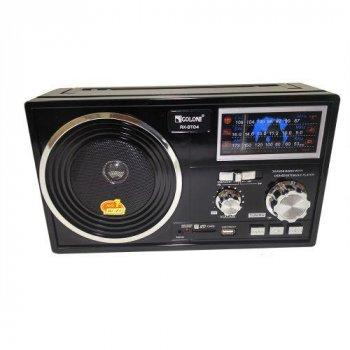 Радіо портативна колонка MP3 USB Golon RX-BT04 c Bluetooth Black