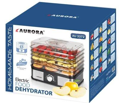 Сушилка фруктов овощей дегидратор Aurora 3372AU (1123372)