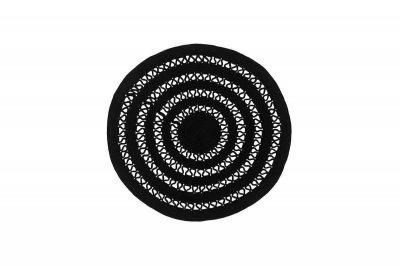 Килим Sitap Alyssa black 1A (85193) (Ø160 див.)