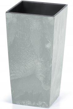 Вазон для рослин Prosperplast 2в1 URBI SQUARE BETON 8 / 16.3 л (5905197266831)