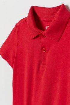 Поло H&M 59007-85 красный (Модняві)