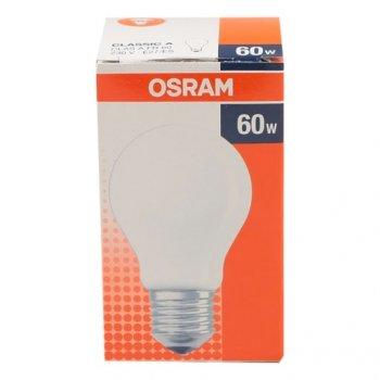 Лампа розжарювання OSRAM Клас А матова 60W E27 (10133452)