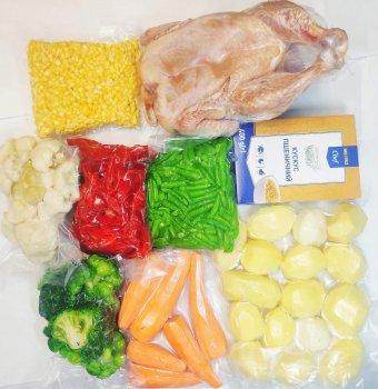 """Набір """"Домашній"""" - 5 кг овочів +1,5 кг курки"""
