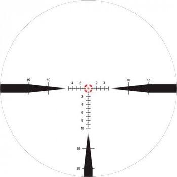 Приціл Nightforce NX8 1-8x24 F1 ZeroS 0.2 сітка Mil FC-Mil з підсвічуванням
