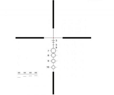 Приціл ELCAN SpecterDR 1-4x DFOV14-T1 C1 (для калібру 5.56х45) з підсвічуванням