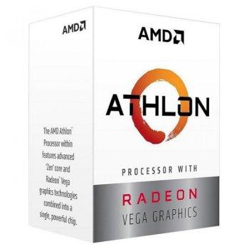 Процесор AMD Athlon 200GE 3.2 ГГц Socket AM4 BOX (YD200GC6FBBOX)