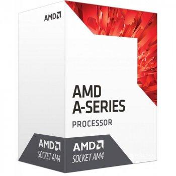 Процесор AMD Bristol Ridge A6-9500 3.5 ГГц Socket AM4 BOX (AD9500AGABBOX)