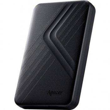 """Жорстку зовнішній диск USB Apacer 3.1 Gen1 AC236 1TB 2,5"""" Чорній (AP1TBAC236B-1)"""