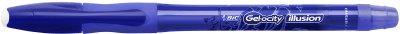 Гелевая ручка пиши-стирай BIC Gelocity Illusion Синяя 0.7 мм (3086123425958)
