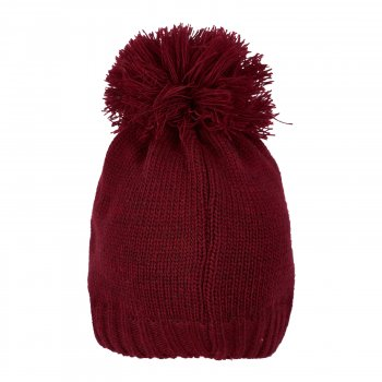 Демисезонная шапка Mari-Knit 0804 48-50 см Бордовая (4825016008040)