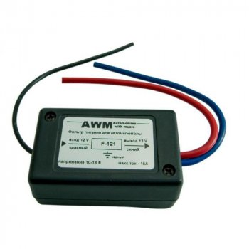 Фильтр питания автомагнитолы AWM F-121 (23426)