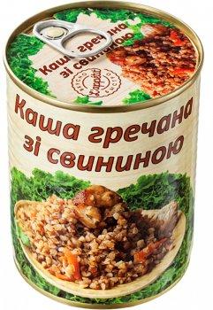 Каша гречана зі свининою L'appetit 340 г (4820177070073)