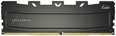 Оперативна пам'ять Exceleram DDR4-3000 8192MB PC4-24000 Black Kudos (EKBLACK4083016A)