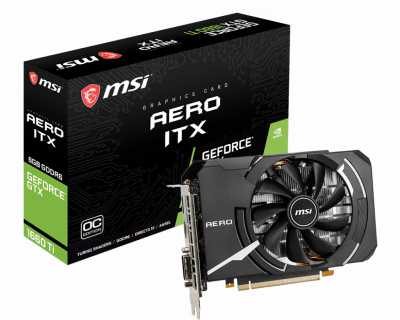 MSI GeForce GTX 1660 Ti Aero ITX OC 6Gb DDR6 (179169)