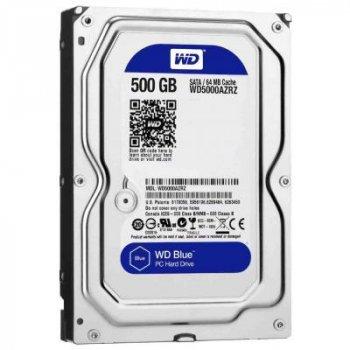 Жорсткий диск 3.5 Western Digital 500Gb (WD5000AZRZ)