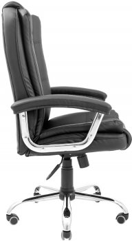 Кресло Rondi Калифорния Люкс Хром Черное (1410198497)