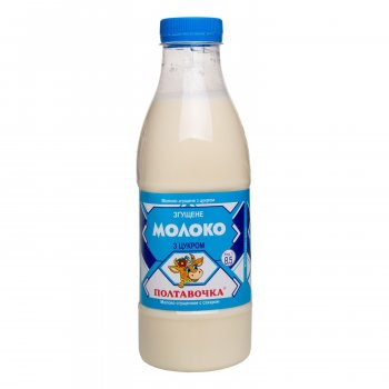 Молоко згущене з цукром 8,5% ТМ Полтавочка 920 г