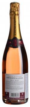 Вино ігристе Domaine Savagny Cremant Du Jura рожеве брют 0.75 л 11,5% (3570590108969)